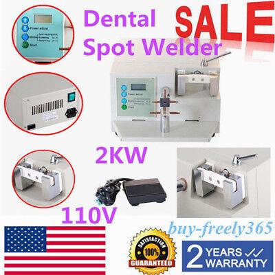 Dental Spot Welder Welding Teeth Orthodontic Materials Heat Treatment Wd2 Usa Us