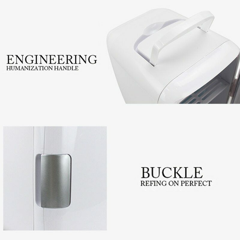 Mini 4L Fridge Makeup Refrigerator Dual-Use for Home Room Ca