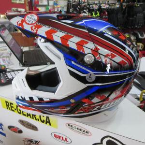 ZOAN Synchrony Motocross MX Dirt Bike ATV Motorcycle Helmet