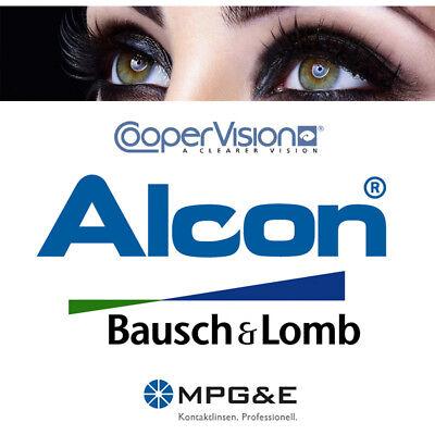Kontaktlinsen, 1 bis 5 weiche Monatslinse(n), Testlinsen neuester Generation