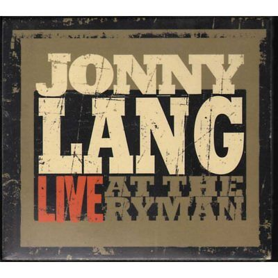 Jonny Lang CD Live At The Ryman / Concord Records Sealed