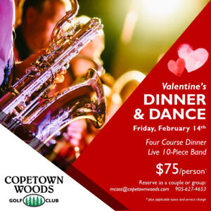 Valentine's Day Dinner & Dance