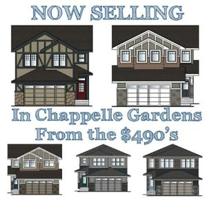 Brand New Homes in Chappelle Gardens Walk Outs Available