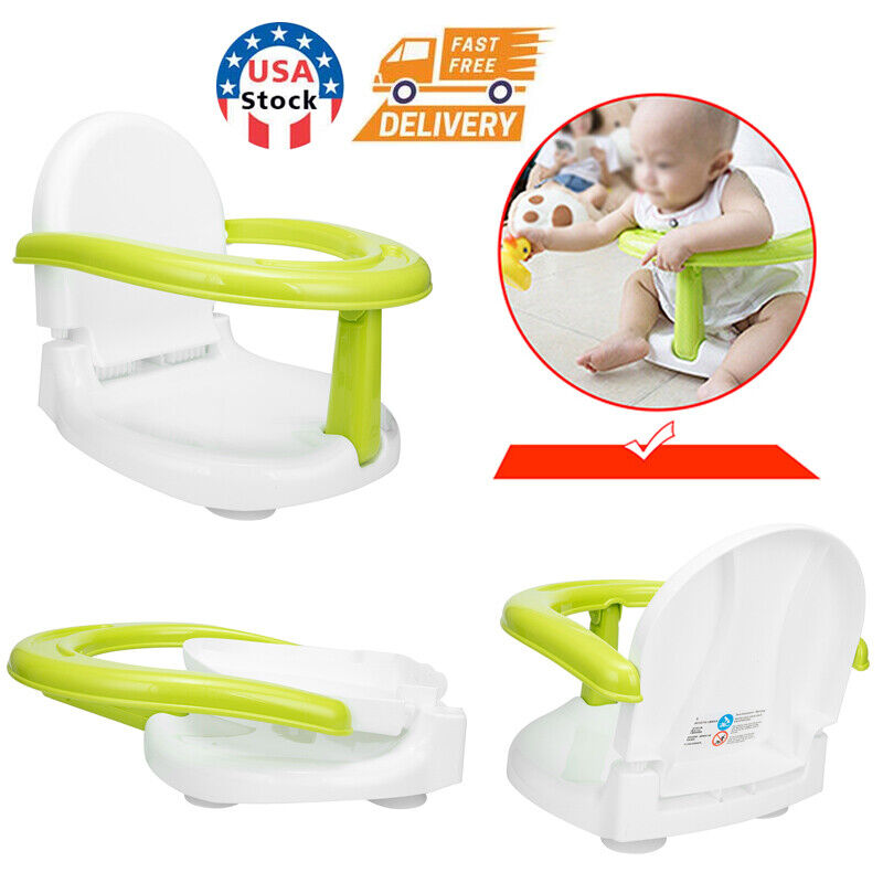 Foldable Baby Bath Seat Baby Bath Tub Ring Seat Infant Bath Seat Chair Anti-Skid