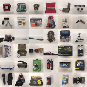 Online-Only Auction Closing Tomorrow Night Outdoor Items + more!
