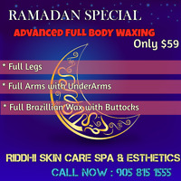 Free Underarms wax with full legs & arms 45$ Only,Facial 38$