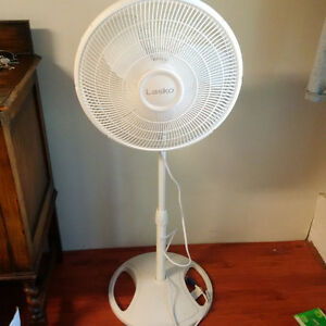 Oscillating standing fan