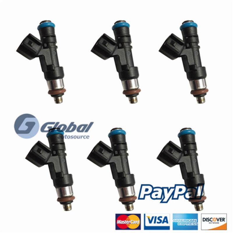 GA 6x New Fuel Injectors For Saturn Buick Gmc 3.6l 0280158154 832-11221 12608632