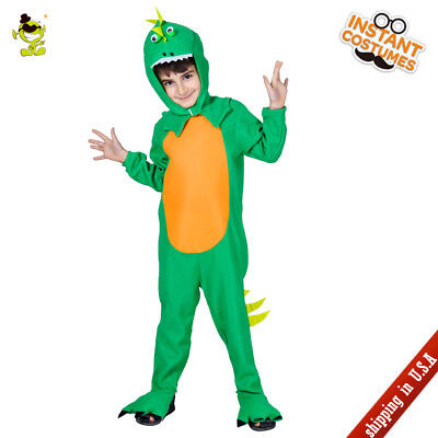 Kids Dinosaur Costumes Boys Carnival Party Cute Animal Dinosaur Cosplay Jumpsuit](Cute Kid Costumes)
