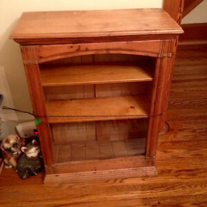 Early Antique Old Primitive Wooden Cabinet General Store