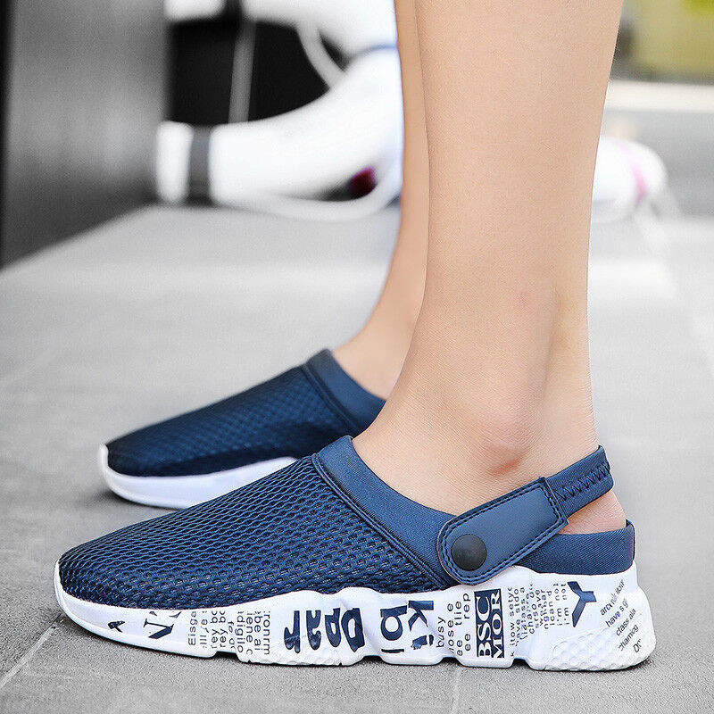 Fashion Men/'s Shoes Garden Water Clogs Sandals Breathable Sneakers Big Size 10