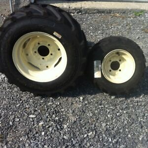 Tractor  wheels tires never used