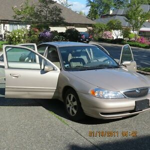 1998 Mercury Mystique Sedan