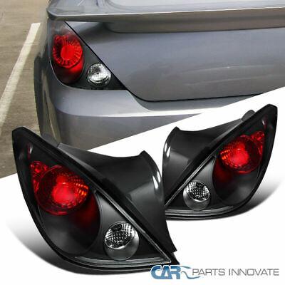 Pontiac 05-10 G6 2Dr Coupe Black Tail Parking Lights Rear Brake Lamps Left+Right (2dr Left Tail Lamp)