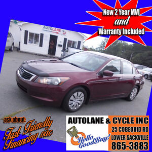 2008 Honda Accord LX GREAT ON FUEL Reliable Car Only $5495