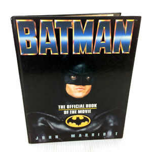 Batman The Official Book of The Movie Vintage 1989 John Marriott