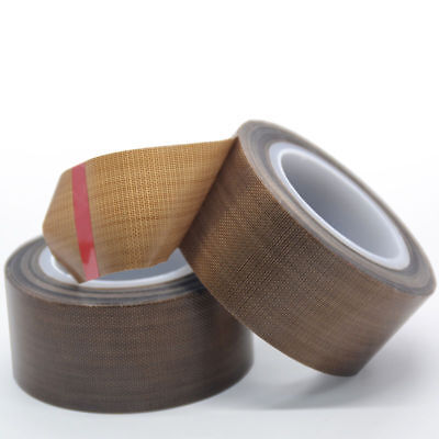 2rolls 1x33ft Teflon Tape Ptfe 180um Thicker 662 Adhesive High-temp Fiberglass