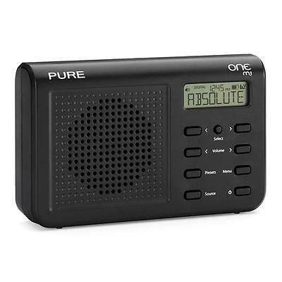 Pure One Mi Portable DAB Digital and FM Radio Black