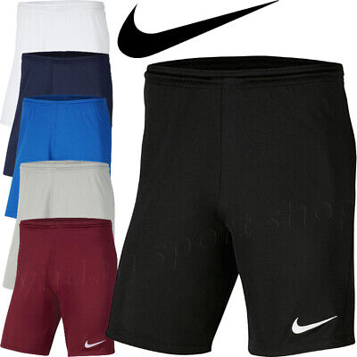 Nike Park III Shorts Bottoms MEN Training Sports Gym Activewear Football Running