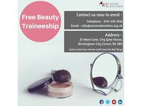 Free beauty traineeships & work experience.