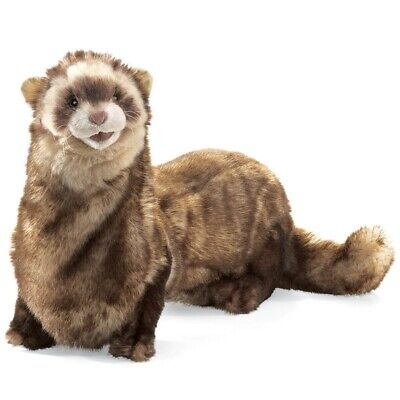 FERRET PUPPET 2843 ~ Free Shipping/USA ~ Folkmanis Puppets