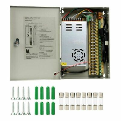 18CH Security Camera Power Supply Switch Box DC 12V 30A 360W CCTV -