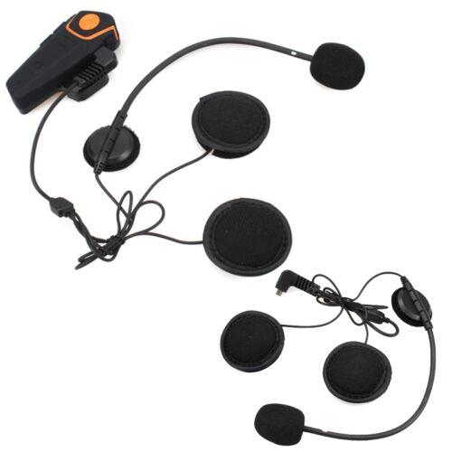 BT-S2 Bluetooth Intercom Interphone Motorbike Motorcycle Headset 1000M+Earphone