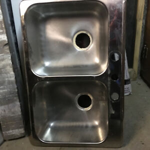 Kitchen sink -Double/ stainless steel