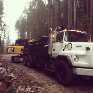 Dump Truck and Hiab Crane For Hire