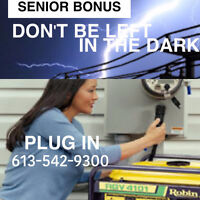 Don't Be Left In The Dark During The Next Power Outage!