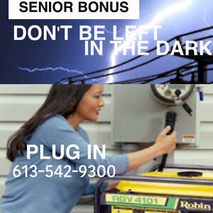 Complete Generator Power for your Home or Cottage Payments O.K. Kingston Kingston Area image 5