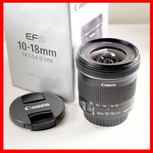 Canon Zoom EF-S 10-18mm f/4.5-5.6 IS STM Lens