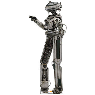 L3-37 Solo: A Star Wars Story CARDBOARD CUTOUT Standup Standee Poster Droid F/S