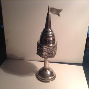 Antique Sterling Silver Besamim Havdala Spices Shabbat Shabbos T