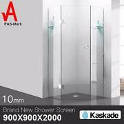 Shower Screen 900x900x2000mm Frameless Glass Dandenong South Greater Dandenong Preview