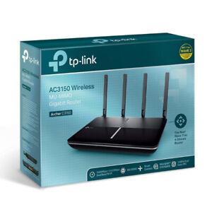 TP-Link (Archer C3150) AC3150 Wireless Wifi Router 4K Streaming