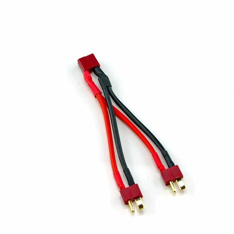 HobbyStar T-Plug Parallel Battery Connector DOUBLE RUN TIME!! Lipo Deans USA!!!