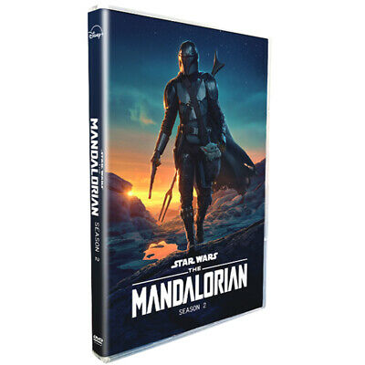 The Mandalorian : Complete Season 2 (DVD, Region 1) Fast Shipping Bubble Packing