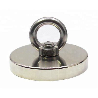 Fishing Magnet Upto 1300 Lbs Pull Force Heavy Duty Strong Neodymium Magnet