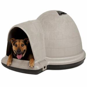 Petmate Indigo Igloo-Style Dog House(Large)