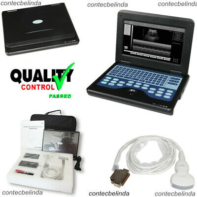 Human Use Portable Laptop Machine Ultrasound Scanner3.5 Convex Probe Contec
