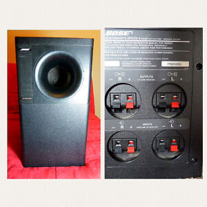value bose subwoofer acoustimass 5 series ii and speaker