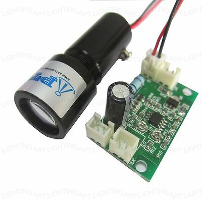 532nm 100mw Fat Beam Green Laser Module Thick Beam Design Effect 5v With Ttl