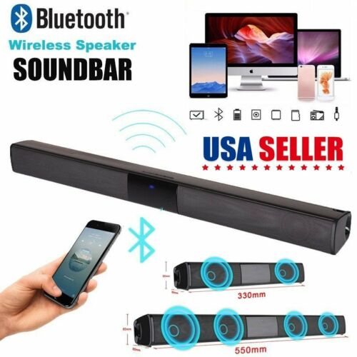 wireless bluetooth sound bar speaker system tv