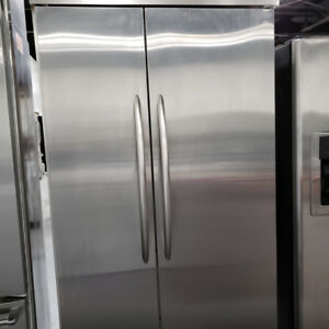 FRIDGE KITCHEN AID MODEL KSSC42FJS00 STAINLESS STEEL