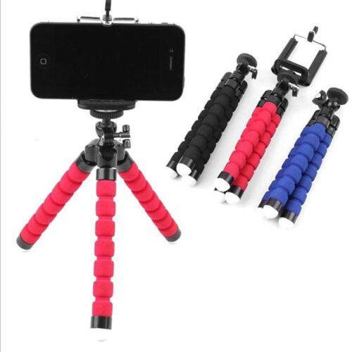 Universal Flexible Octopus Tripod Stand Phone Holder for iPhone Samsung Camera Cell Phone Accessories