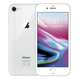iPhone 8 silver unlocked 64gb