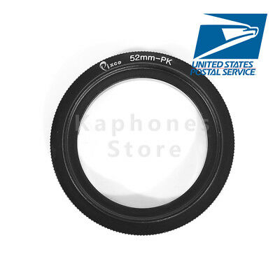 (52mm Macro Reverse Ring For Pentax K-x K-r K-m K-7 K-5  K-20D K-10D K-100D K200D)