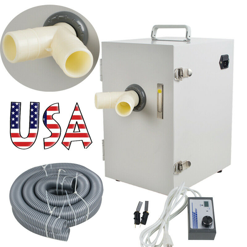 550W Dental Digital Double Impeller Dust Collector lab Vacuum Cleaner