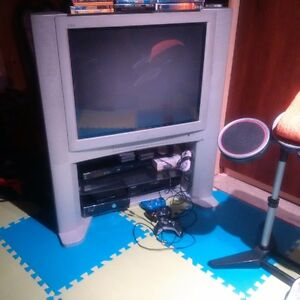 JVC TV & stand for sale